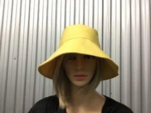 Helen Kaminski Yellow Bucket Hat