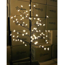 Cherry Blossoms Christmas Tree Fairy Lights 80LED, 1.2M 4ft Tall, Ground Spike