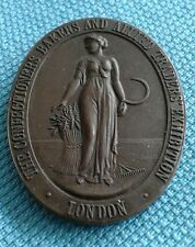 BRONZE MEDAL  -  London Confectioners, Bakers Exhibition Medal c19th century