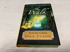 The Walk by Richard Evans (2010, Hardcover) SIGNED HC 1st/1st USED