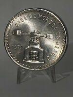1979 MEXICO ONZA 1 TROY OUNCE 925 FINE SILVER COIN 1A