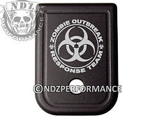 For Glock Magazine 10mm .45 cal BLK Plate 20 21 29 30 40 41 Zombie Response 2