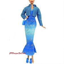 Barbie Fashion Avenue Outfit Dress Jacket Shoes NO DOLL