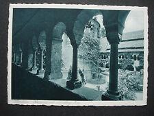 "Alte PK Postkarte ca 1930: Hildesheim: Kirche ""Kreuzgang u. 1000-jährige Rose"