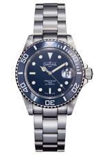 Davosa Automatic Ternos Diver Blue Silver Ceramic Bezel Wrist Watch