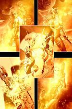 Cyber Spectre #1 (Exclusive Kickstarter Gold Virgin Variant Set, Scout Comics)