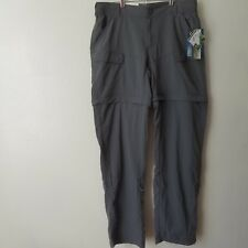 World Wide Sportsman 3 In 1 Pants gray, zip off  pants, capris, shorts small