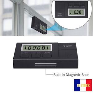 Mini inclinomètre numérique boîte de niveau rapporteur d'angle aimant de mesure
