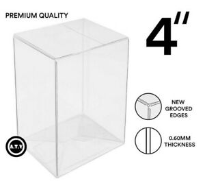 """ATV Protectors / Cases / for 4"""" Funko Pop Vinyl 0.6mm Thickness (1-100 pack)"""