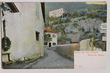 30083 AK Straße in Gries bei Bozen 1905 rücks. MILKA-Tafel-Margarine Werbungl
