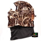 NEW BANDED GEAR DELUXE UFS FLEECE FACE MASK HOOD NECK GAITER REALTREE MAX-4 CAMO