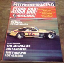 STOCK CAR RACING 1975 AUG - Stott, Gilbert,Vandiver,Torgerson, Knaack,Armscamp