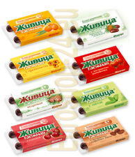 40 Jivitsa, A set of 8 different chewing gums - Zhivitsa from Taiga Natural Gums