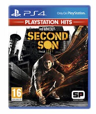 & Infamous Second Son Hits Sony PlayStation Ps4 Game