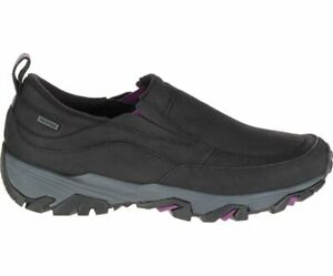 Merrell ColdPack Ice+ Moc Leather Waterproof Slip On Women's Shoes Brand New