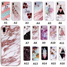 Slim TPU Rubber Case Phone Cover For Huawei Nova 3i Y9 2019 Y7 Y6 Y5 Prime 2018