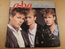 """A-Ha : Take On Me : Vintage 7"""" Vinyl Single from 1985"""