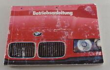 BMW e9 3,0 S//A x2 3,3l CARBURATORE uno Tell istruzioni ZENITH 35//40 INAT