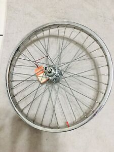 """20"""" 7X style 5 Speed Chrome Hub New Old Stock Rear Wheel Fits GT Hutch Cw SE"""