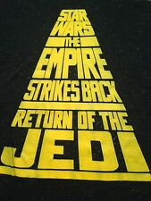 NEW WITH TAGS STAR WARS BLACK T SHIRT SMALL
