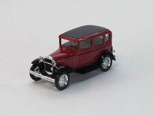 GAZ-6 Soviet Retro passenger car 1/43 die cast scale model. Black or Red colors