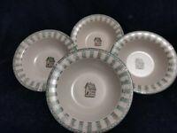 "Pfaltzgraff Naturewood Cereal Bowls (set of 4) 7 1/4""  Across"