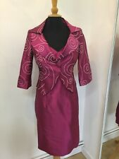 Beautiful NEW Silk Designer Outfit Size 18