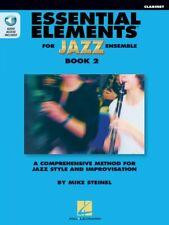 Essential Elements for Jazz Ensemble Book 2 Clarinet Instrumental New 000877514