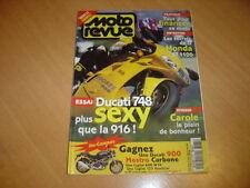 Moto revue N° 3185 Ducati 748.Gp de Belgique trial