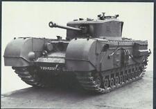Postcard British Curchill Vii tank Imperial War museum