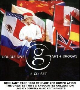 Garth Brooks Best Essential Greatest Hits Collection RARE 90's Country Music 2CD