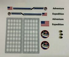 Custom Replacement Vinyl Stickers Lego 10213 10231 Space Shuttle Expedition