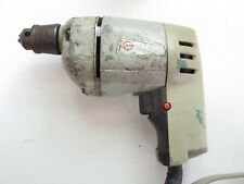 Vintage Black And Decker 3/8'' Electric Drill Works