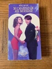So I Married An Ace Murderer VHS