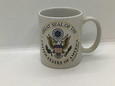 great seal of the united states coffee cup