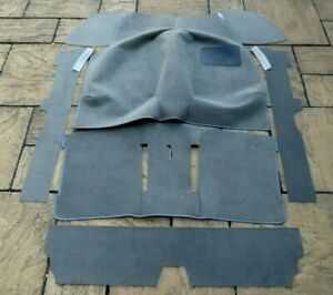 VOLKSWAGEN GOLF MK1 HATCHBACK OR CABRIOLET CLASSIC NEW GREY CARPET SET