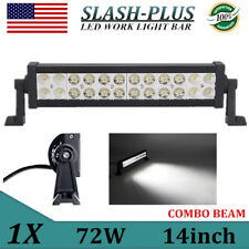 Philips 14inch 72W LED WORK LIGHT BAR SPOT/FLOOD COMBO TRUCK OFFROAD 4X4WD /120W