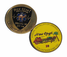New Egypt EMS and Rescue Squad 30 Challenge Coin
