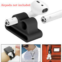 Anti-lost Strap Silicone Case Cover Skin Holder for Air Pods&Accessories w/