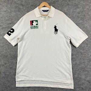Polo Ralph Lauren Golf Shirt Mens Size L Large Adam Scott Short Sleeve 197.01