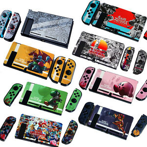 Dockable Thin Hard Case Cover Shell for Nintendo Switch Super Smash Bros