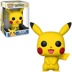 "Funko Pop Vinyl 10"" Pikachu Figure. Pokemon 353"