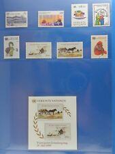 unicef 1985 Briefmarken Div. Marken - Wien  PF
