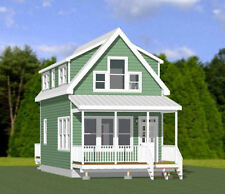 16x30 House -- 2 Bedroom  -- PDF Floor Plan -- 878 sq ft -- Model 8L