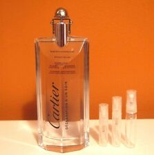 Cartier Declaration D'Un Soir 5 ml / 0.17 oz SAMPLE Glass Travel Atomizer