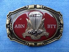 Canadian Airborne Regiment Airborne Battery Badged Western Belt Buckle