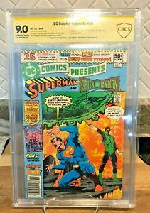 DC Comics Presents #26 - 1st App. of the New Teen Titans! CBCS 9.0 Perez Signed!