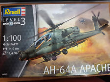 Boeing MDD AH-64A Apache Elicottero - Revell Kit 1:100 - 04985 Nuovo