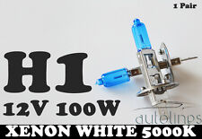 H1 12V 100W Xenon White 5000k Halogen Fog Car Headlight Lamp Globes Bulbs HID
