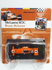 New listing McLaren M7C 1969 #4 Bruce McLaren World Champion formula 1 1:43 Altaya